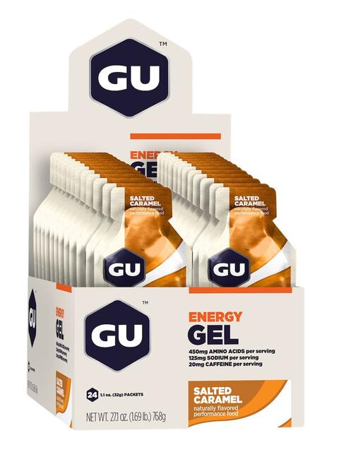 GU Energy Gel Box Salted Caramell 24 x 32g